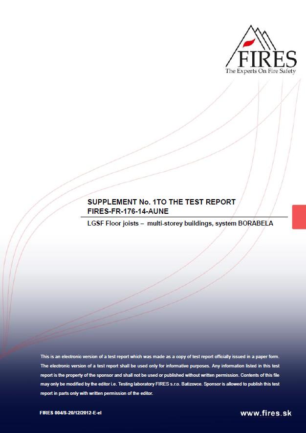 FIRES-FR-176-14-AUNE Supplement 1 3 (klasyfikacja ogniowa)
